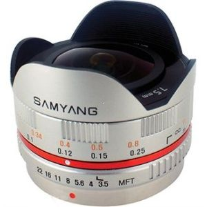 Samyang 7.5mm f/3.5 Fisheye MFT S