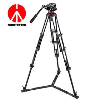 Manfrotto HDV PRO videostatív (low spreader)