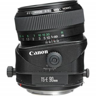Canon TS-E 90mm f/2.8 tilt shift objektív