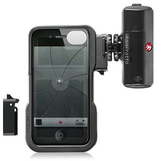 Manfrotto KLYP iPhone Case + LED svetlo 120