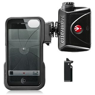 Manfrotto KLYP iPhone Case + LED svetlo 240