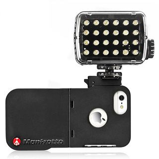 Manfrotto CASE IPHONE 5 + LED svetlo 240