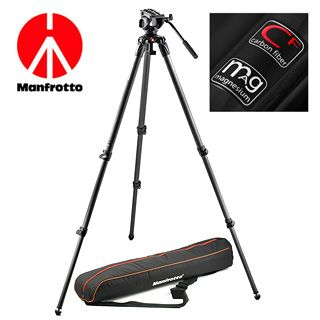 MANFROTTO MVK500C, SET karbónový video statív a video hlava série 500
