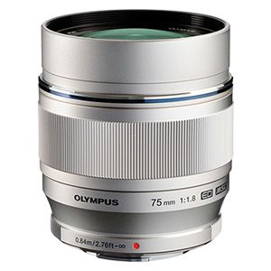 Olympus M. Zuiko Digital ED 75mm f/1.8 MSC Silver