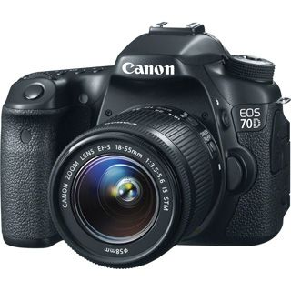 Canon EOS 70D + EF18-55 IS STM