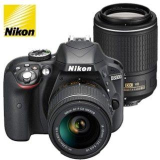 Nikon D3300 + AF-P 18-55 VR + 55-200 VR II + 4x čistenie čipu zadarmo!