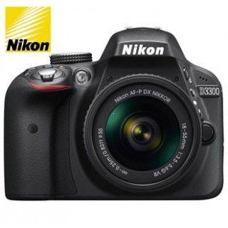 Nikon D3300 + 18-55 AF-P VR Black + 4x čistenie čipu zadarmo !