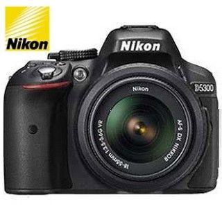 NIKON D5300 + AF-P 18-55 VR Black + 4x čistenie čipu zadarmo !