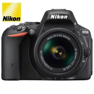 Nikon D5500 + AF-P 18-55 VR Black  +4x čistenie čipu zadarmo !