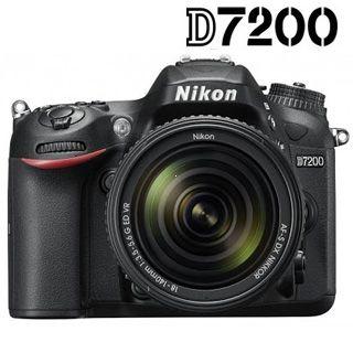 Nikon D7200 + 18-140mm AF-S DX VR + 4X čistenie čipu