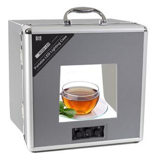 Prenosné LED kufríkové štúdio na fotografovanie produktov led3220