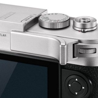 Leica Thumb support, silver for M10