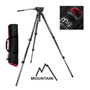 Manfrotto Video Set MOUNTAIN Carbon