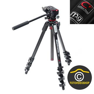 Manfrotto Mountain 2016 Carbon -ultraľahký videostatív