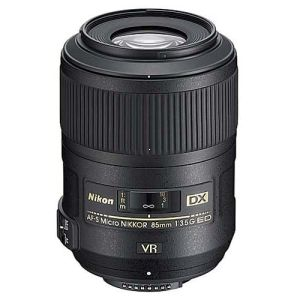 Nikon AF-S 85mm F/3,5G ED DX VR Micro -Cashback 30€