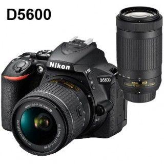 Nikon D5600 DOUBLE ZOOM VR KIT + 4x čistenie čipu zadarmo