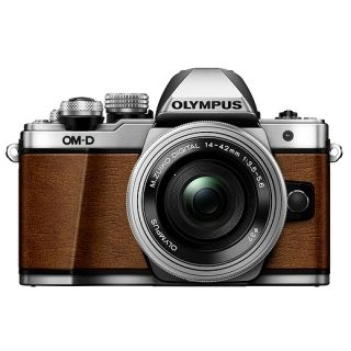 Olympus E-M10 Mark II + 14-42mm EZ fox brown/silver  -Cashback 75€