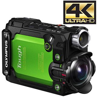 Olympus TG-Tracker 4K Action Camera zelená