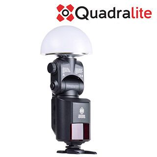 Quadralite Reporter Light-dome wide angle diffuser