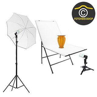 Fotografovanie produktov Set 400 + 400W