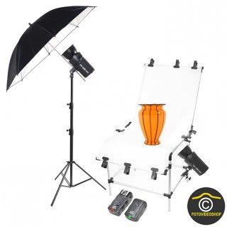 Profesionálny Set na fotografovanie produktov PhotonEurope DM 400 +200