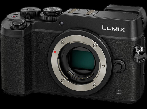 Panasonic Lumix DMC-GX8 Mirrorless Micro Four Thirds Digital Camera (Body Only, Black)