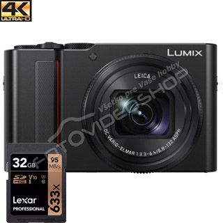 Panasonic Lumix TZ200 black