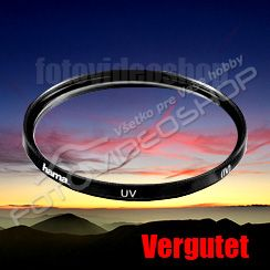 hama Vergutet UV filter HR 62mm 70062
