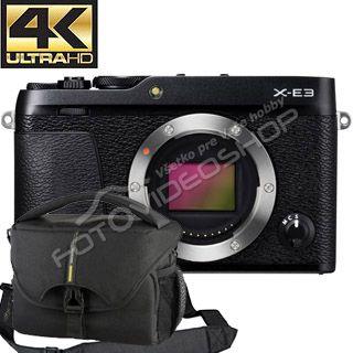 Fujifilm X-E3 čierne telo  31cf493abed
