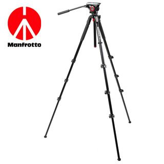 Videostatív Manfrotto HDV 2014 do 5kg  4-sekčný