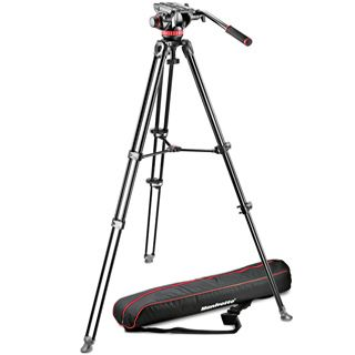 Manfrotto MVK502AM-1, KIT VIDEO TELESCOPIC TWIN LEG s hlavou 502AM