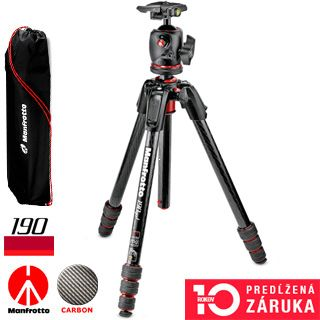 Manfrotto 190go! carbon MK190GOC4-BHX, SET