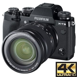 Fujifilm X-T3 +16-80mm kit black