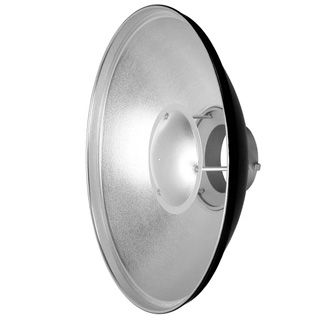 QZ-70 Beauty Dish Radar reflector silver