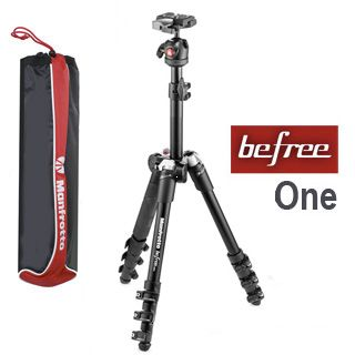 Manfrotto Befree One Aluminium black statív