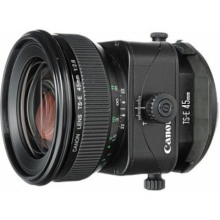 Canon TS-E 45mm f/2.8 tilt shift objektív