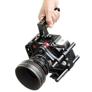 DSLR Rig pre Blackmagic Production Camera 4K