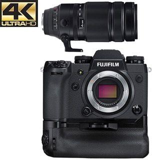 Fujifilm X-H1 + Grip + XF 100-400mm f/4.5-5.6 R LM OIS WR