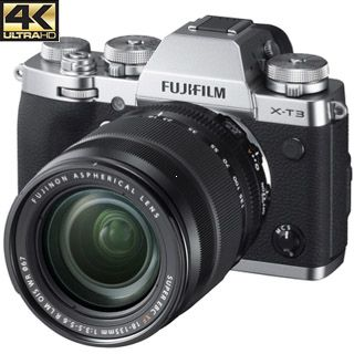 Fujifilm X-T3 +18-55mm kit silver