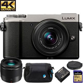 Panasonic Lumix DC-GX9 +12-32mm silver