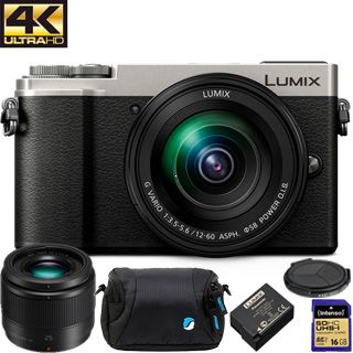 Panasonic Lumix DC-GX9 +12-60mm silver