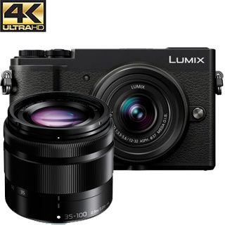Panasonic Lumix DC-GX9 +12-32mm +35-100mm čierny