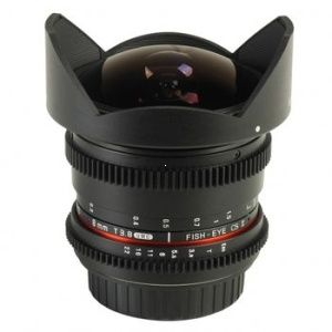 Samyang 8mm T/3.8 VDSLR UMC Fish-Eye CS II pre Canon EF