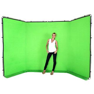 Lastolite LB7622 SET Panoramic Background 4m Chromakey Green