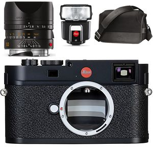 Leica M (Typ 262) Entry Set-M + 50 mm f/2,4 + blesk SF 40 + System bag M