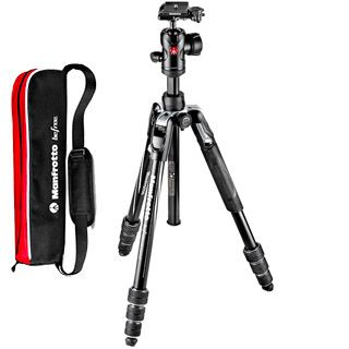 Manfrotto Befree Advanced Aluminum Travel Tripod twist, ball head MKBFRTA4BK-BH