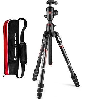 Manfrotto Befree GT XPRO Carbon tripod MKBFRC4GTXP-BH