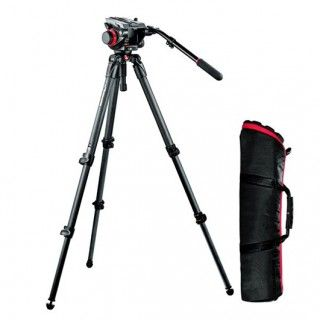 Manfrotto 504DD, 535K Carbon Set