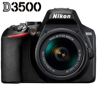 Nikon D3500 + AF-P 18–55 VR