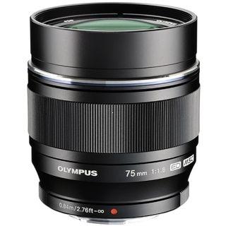 Olympus M. Zuiko Digital ED 75mm f/1.8 MSC Black + ÄŒistiaca sada ZADARMO